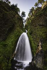 Waterfall X (Longleaf.Photography) Tags: waterfall x wahkeena falls or oregon columbia river gorge
