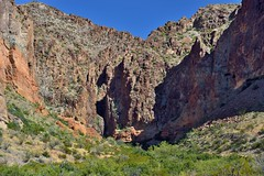 A Mountainside of Colors and Shapes in Lower Burro Mesa (Big Bend National Park)