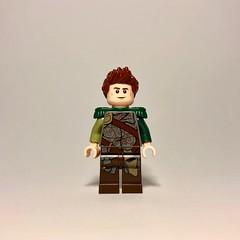 Kars Okinodo (Casual Attire) (socalbricks) Tags: goh guilds historica sigfig eurobricks avalonia warrior purist mini figure minifigure moc guildsofhistorica
