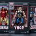 Thor, Iron Man, Captain America