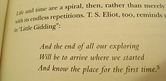 and the end of all our exploring (muffett68 ☺ heidi ☺) Tags: hmm printedword andtheendofallourexploring