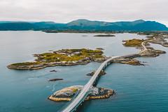 Atlantic Ocean Road | Norway aerial #216/365 [Explored]