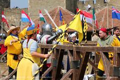Medieval fight 3 (srkirad) Tags: sports battleofthenations medieval tournament armor fight warriors swords judge sunny smederevo fortress serbia srbija travel