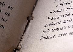 l'ancien bouquin (mrieffly) Tags: macromondays printedwords livre reliure canoneos50d objectifmacro60mm