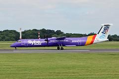 G-JEDT DHC-8Q 402 Flybe MAN 23-07-19 (PlanecrazyUK) Tags: egcc manchester ringway manchesterairport gjedt dhc8q402 flybe man 230719
