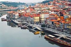 Ribeira Porto (Terry Kearney) Tags: houses water skyline architecture docks canon buildings reflections river boats coast daylight europe day waterfront bridges explore porto shops coastline kearney ribeira waterway watercourse buildingsarchitecture buildingstructure ribeiraporto riverdouroporto canoneos1dmarkiv sky people urban portugal nature weather landscape outdoor ships unesco 2019 portoportugal oneterry terrykearney
