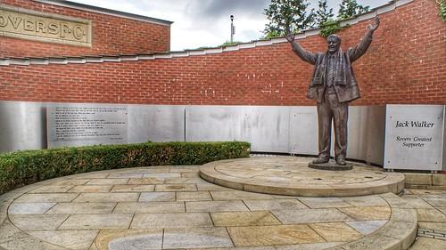 Jack Walker Statue Ewood Park