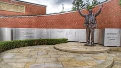 Photo of Jack Walker Statue Ewood Park