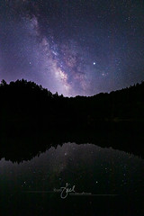 Alpine Lake Milky Way (Dive Girl DSLR) Tags: usa reservoir celestial nightphotography astrophotography nightsky jupiter stars starlight adventurous beautiful countryside camping hill nature natural california bayarea marincounty northerncalifornia tamalpias alpinelake summer clearweather cloudless zen reflection landscape outdoor janelleorthphotography jnel janelleorth glow destination america remote cosmos cosmic galaxy constellation universe astronomy science space