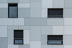 Four...all different (jefvandenhoute) Tags: belgium belgië brussels brussel bruxelles light geometric shapes wall windows