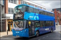 Diamond Bus SO19MVX (Mike McNiven) Tags: rotala diamond bus northwest wright streetdeck bolton interchange depot shudehill manchester