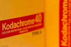 Kodachrome 40 (Marian Kloon (on and off)) Tags: printedwords macromondays kodachromesuper8 kodak