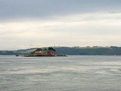 Drakes Island (Alan Reeve) Tags: cornwall holiday drakes island plymouth coast water war office sky sea rocks