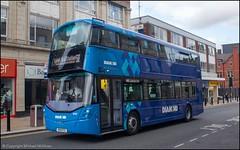 Diamond Bus SO19EYU (Mike McNiven) Tags: rotala diamond bus northwest wright streetdeck bolton interchange depot leigh busstation