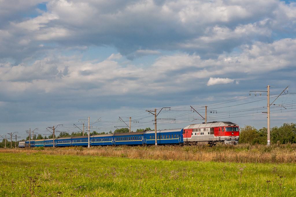фото: ТЭП70-0262, Санкт-Петербург - Киев, Антропшино - Кобралово