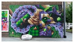 OX-ALIEN / THOR-ONE / IAMEELCO (LukeDaDuke) Tags: mural muralart murals street streetart streetphotography urban urbanart urbanphotography city cityphotography graff graffiti graffiticharacter oxalien thorone iameelco eelcovandenberg