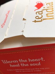 Printed words (tanith.watkins) Tags: words printed text fonts macro packaging carton tea chai logo gold lettering