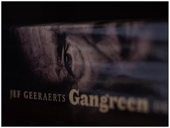 Gangreen (Willy 1943 (out for a few days )) Tags: macromondays book jef geeraarts macro printed words