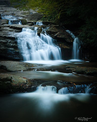 Falling in the shadows (Through_Urizen) Tags: category mustafakemalpasa places suuctuwaterfall turkey waterfall canon70d canon sigma1020mm outdoor nature natural scenery scenic woodland trees gorge rocks rivine stream river creek cascade waterfalls longexposure landscapephotography travelphotography landscape