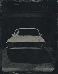 MUSTANG (Bertrand Carrot Film Photographer) Tags: ambrotype collodion camera4x5 camera 210mm schneider wetplate wetplatephotography wetplatecollodion