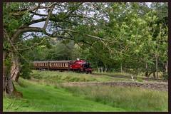 Ivatt between the branch's (Lowcock_matt) Tags: lms britishrailway train steam 41241 ivatt oxenhope kwvr