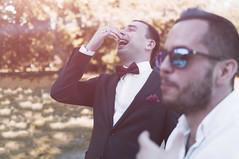 _IGP7206 (Alex Strekal) Tags: friends life guys yellow moscow kolomenskoye smile walk park wedding report lights sunny pentax k20d москва lens flare lightning коломенское парк свадьба прогулка друзья солнце свет май may friendship дружба любовь love lovers happy happiness счастье щастие
