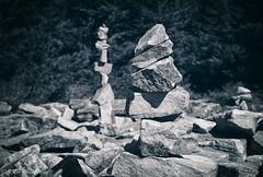 Spruce Knob Cairns (KRHphotos) Tags: rock westvirginia stilllife spruceknob nature riverton unitedstatesofamerica