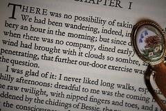 Jane Eyre (the.haggishunter) Tags: book novel paper words print story bronte printedword macromondays janeeyre bookmark