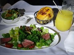 201908007 BA174 JFK-LHR dinner (taigatrommelchen) Tags: 20190831 flyingmeals airplane inflight meal food dinner business baw britishairways ba174 b747400 gcive jfklhr