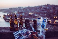 Super Bock (jansterino) Tags: porto portugal portogallo oporto sunset super bock beer trash city europe bokeh nikon d3300 nikkor 35mm spring