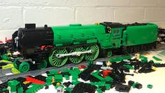 Feasibility (Britishbricks) Tags: lego steam train engine lner moc wip tornado a1 peppercorn green