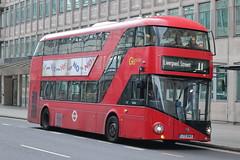 LT43 LTZ 1043 (ANDY'S UK TRANSPORT PAGE) Tags: victoria buses london nbfl goaheadlondon londongeneral