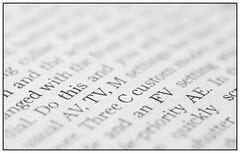 Printed Word (EddieAC) Tags: printedword newspaper photographynews macro print macromondays
