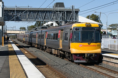 Turning Back At Caboolture (jamesmp) Tags: queenslandrail queenslandgovernmentrailways qrcitytrain walkersltd asea emufarewelltour electricmultipleunit electrictrain localtrain passengertrain emu01 emu04 train railway travel emudisposalproject queensland australia caboolture