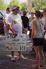 Stop The Abuse (michael.veltman) Tags: stop the abuse ice keep families together protest joliet illinois