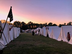 The Sunset (Alex Luyckx) Tags: midland penetangushine ontario canada discoveryharbour grandtactical1812 grandtactical warof1812 reenactment reenactors battle demostrations history canadianhistory livinghistory british american soldiers camp iphone iphone8 iphonography