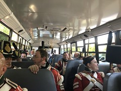 On the Bus (Alex Luyckx) Tags: midland penetangushine ontario canada discoveryharbour grandtactical1812 grandtactical warof1812 reenactment reenactors battle demostrations history canadianhistory livinghistory british american soldiers camp iphone iphone8 iphonography