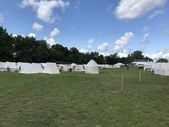 Camp Life (Alex Luyckx) Tags: midland penetangushine ontario canada discoveryharbour grandtactical1812 grandtactical warof1812 reenactment reenactors battle demostrations history canadianhistory livinghistory british american soldiers camp iphone iphone8 iphonography
