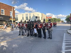 Pose! (Alex Luyckx) Tags: midland penetangushine ontario canada discoveryharbour grandtactical1812 grandtactical warof1812 reenactment reenactors battle demostrations history canadianhistory livinghistory british american soldiers camp iphone iphone8 iphonography