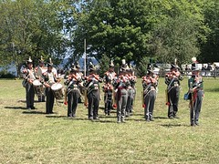 The Corps (Alex Luyckx) Tags: midland penetangushine ontario canada discoveryharbour grandtactical1812 grandtactical warof1812 reenactment reenactors battle demostrations history canadianhistory livinghistory british american soldiers camp iphone iphone8 iphonography
