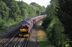 Guildford UK  |  2019 (keithwilde152) Tags: wcrlys class37 37706 37518 37667 guildford uk 2019 excursion passenger train landscape countryside tracks diesel locomotives outdoor summer sun