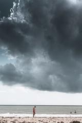 Suscinio summer time (erictrehet) Tags: morbihan summer beach plage océan cloud nuage bretagne extérieur eau rivage sky paysage fullframe lumière nikon fx france holidays light landscape littoral mer ciel couleur color calme vacances