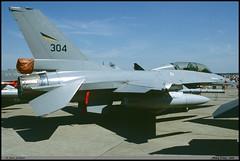 F16 B 304 78-0304 332SKV Nancy juin 1998 (paulschaller67) Tags: f16 b 304 780304 332skv nancy juin 1998