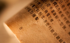 printed word (marinachi) Tags: macro macromondays paper printedword sundaylights