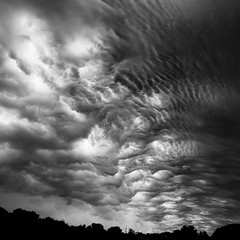 Summer Storm Clouds 018 (noahbw) Tags: d5000 nikon abstract blackwhite blackandwhite bw clouds cloudy landscape light monochrome natural noahbw sky square storm stormy summer weather
