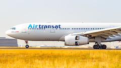 Airbus A330-243 C-GTSZ Air Transat (William Musculus) Tags: paris charles de gaulle lfpg cdg roissy roissyenfrance airport aeroport spotting aviation plane airplane william musculus cgtsz air transat airbus a330243 ts tsc a330200