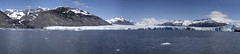 Columbia Glacier panorama (BDFri2012) Tags: columbiaglacier glacier alaska mountains ice snow ocean iceberg water pacificocean pacificnorthwest bluesky reflection reflections