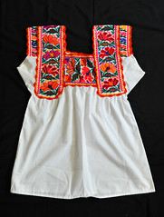 Mexican Blouse Chatino Nopala Textiles (Teyacapan) Tags: chatino textiles mexico oaxaca nopala blusa blouses embroidered ropa clothing vestimenta