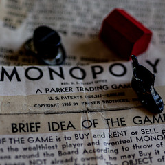 Monopoly Instructions Copyright 1936 (Explore 8-12-2019) (Mi Bob) Tags: macromonday printedword