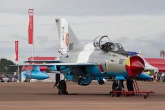 Mig-21 Lancer C 6807 Esc 861 (spbullimore) Tags: mig mig21 lancer c romania romanian air force af riat 2019 fairford escadrila 861 57 baza aeriana 6807